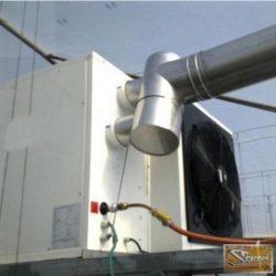 Set gázüzemelésű légbefuvó 75kW