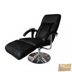 Vid elektromos tv fotel masszázsfotel fekete