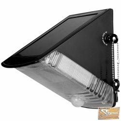 Vid napelemes pir mozgásérzékelős kültéri lámpa